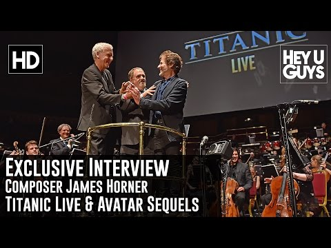 Composer James Horner Exclusive Interview - Titanic Live / Avatar Sequels