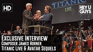 Composer James Horner Exclusive Interview - Titanic Live / Avatar Sequels
