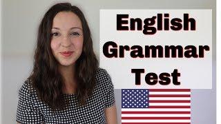 English Grammar Test: Advanced English Lesson