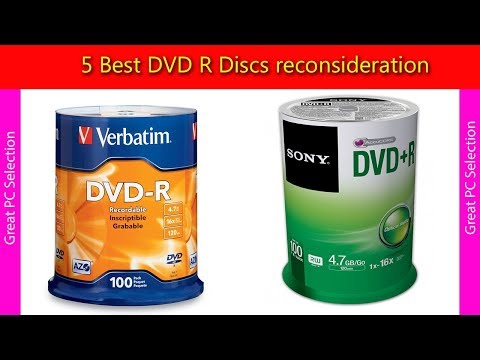 5 Best DVD R Discs reconsideration from YouTube · Duration:  4 minutes 26 seconds
