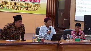 Ustadz Abdul Shomad tentang Syiah dan Khilafiyah, Pemkot Batam 24 Agustus 2017
