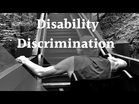 Disability Discrimination Leads To Lifetime On ESA Benefits & Disability Living Allowance In The UK