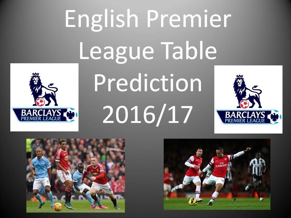 England premier league football predictions
