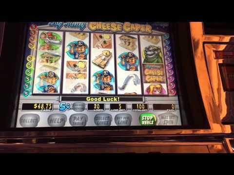 big money cheese caper slot game