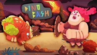 КУПИЛ МЕГА КРУТОГО динозавра РОККИ Мультик игра для детей Dino Bash