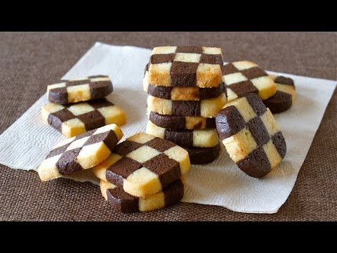How to Make Checkerboard Cookies (EASY Ice Box Cookie Recipe) | OCHIKERON | Create Eat Happy :)