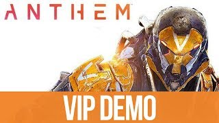 ANTHEM EARLY VIP DEMO Gameplay (All 3 Missions)