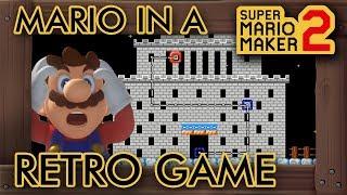 Super Mario Maker 2 - A Full Retro Game in One Level?