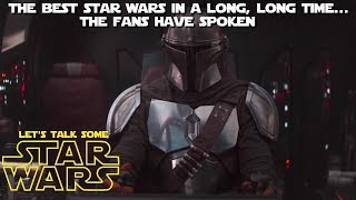 """Is """"The Mandalorian"""" really that good, or just great compared to the rest of Disney Star Wars?"""