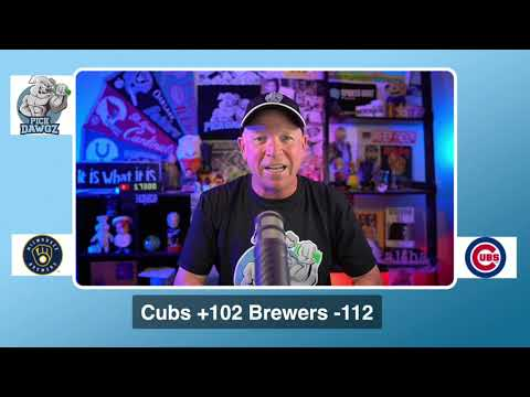 Chicago Cubs vs Milwaukee Brewers Free Pick 8/14/20 MLB Pick and Prediction MLB Tips