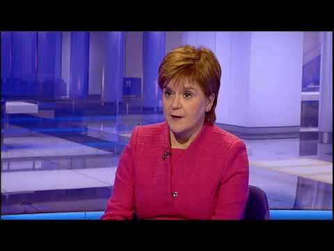 First Minister Nicola Sturgeon MSP on Scotland Tonight
