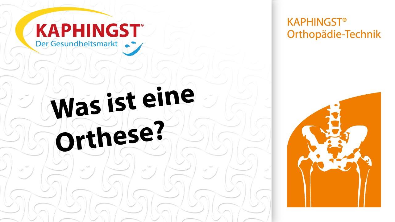 e93cebafac3f91 Was ist eine Orthese  Sanitätshaus Kaphingst GmbH