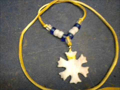 A Flint Snowflake Necklace!