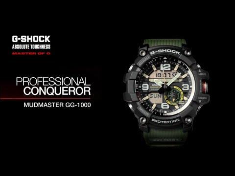 G-SHOCK MUDMASTER GG-1000 - YouTube 910af291731