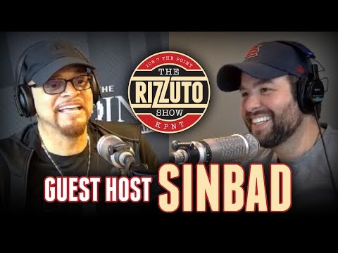 SINBAD claims he started the Shazaam rumor; talks stealing jokes and much more [Rizzuto Show]