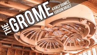 The Grome: 1 Groin Vault & 4 Half Dome Ceilings