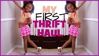 Gabby's First MEGA Thrift Haul + Try-on | Spring 2016 | BlueprintDIY Kids