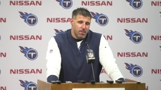 #Titans Head Coach Mike Vrabel's Post-Game Press Conference #INDvsTEN