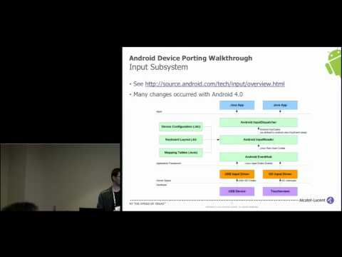 Android Device Porting Walkthrough - Android Builder Summit 2012