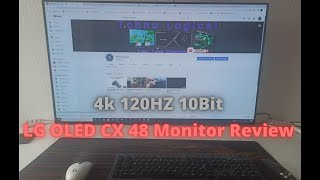 LG OLED CX 48 Monitor Review