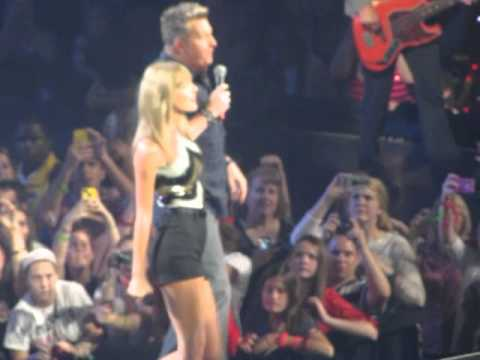 Taylor Swift with Rascal Flatts - What Hurts The Most - Nashville 2013