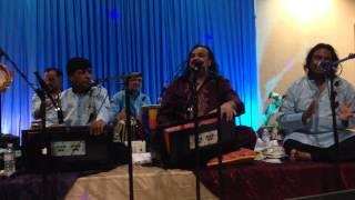 ali kay sath hai zehra ki shadi by Amjad Sabri live in Austin