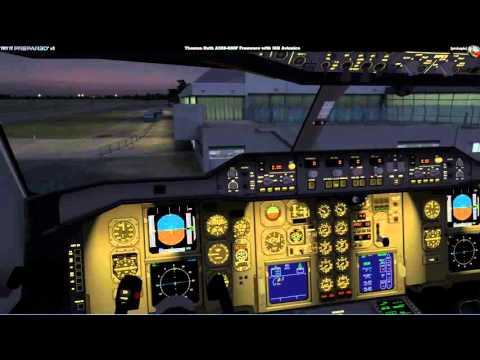Try it Prepar3D v3 - Thomas Ruth A300-600 Freeware Pimped [German]
