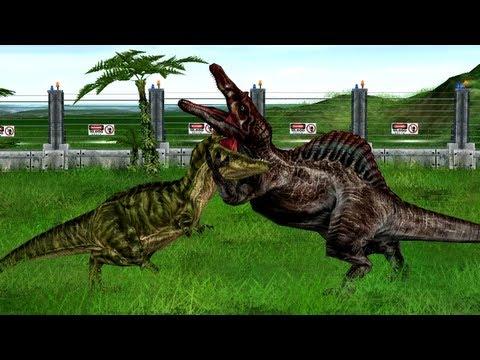 Jurassic Park Operation Genesis - Death duels in 1080p HD [reupload]