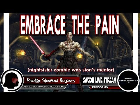 SWGOH Live Stream Episode 89: Embrace The Pain | Star Wars: Galaxy of Heroes #swgoh