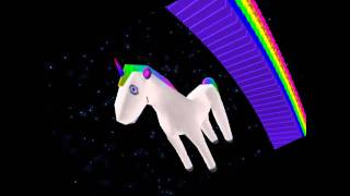 Space unicorn by parry gripp- Roblox Spoof!