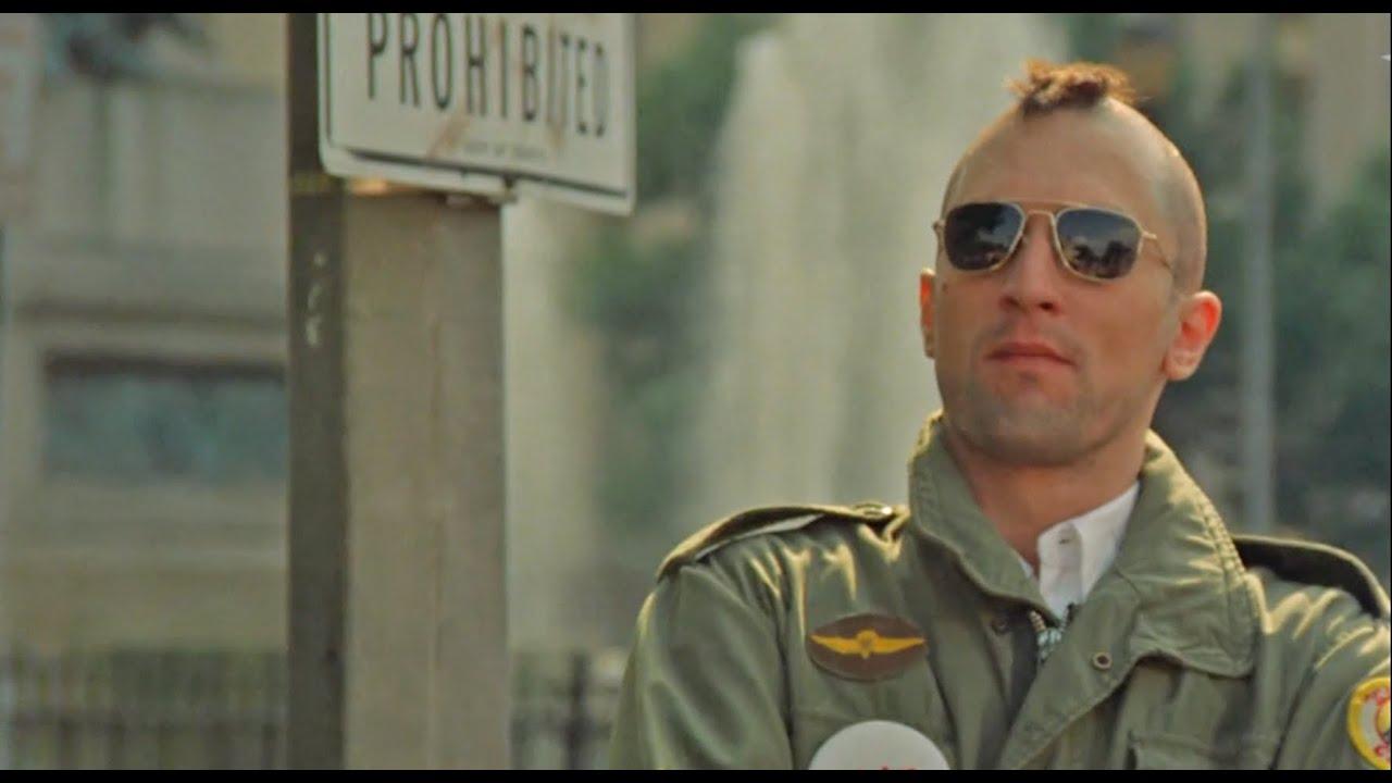 Robert De Niro - TAXI DRIVER / タクシードライバー 1976 - YouTube