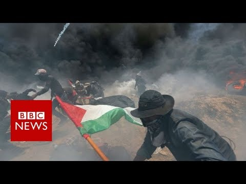At least 25 Palestinians killed in Gaza-Israel border clashe