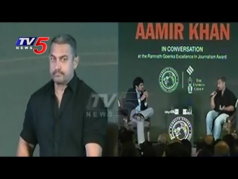 Bollywood Actor Aamir Khan Sensational Comments On Intolerance