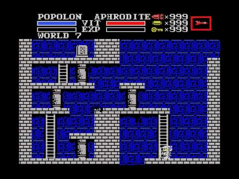 BGM]ガリウスの迷宮 World BGM(MSX) - YouTube