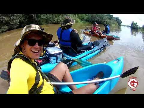 Aventuras de caiaque no rio piranhas de São Bento PB a Jardim de Piranhas RN