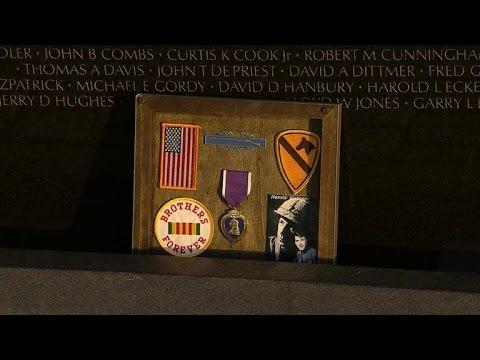 Mementos left at Vietnam Veterans Memorial reveal personal stories
