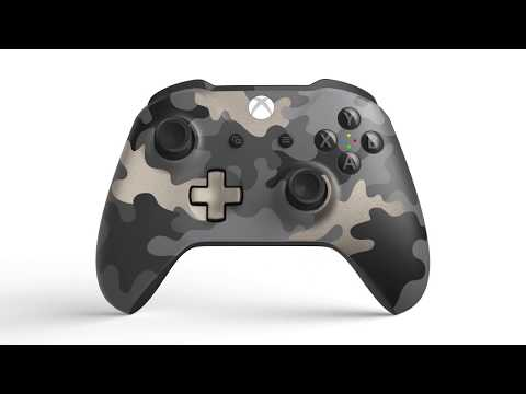Xbox One Dark Op's Camo Special Edition Wireless Controller - Video