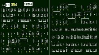 5.快樂的馬車(Bb)K 伴奏-(簡譜)