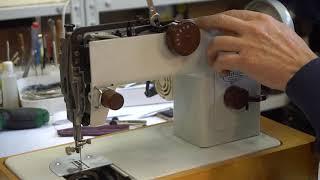 Швейная машина Чайка 134. Регулировка положения иглы относительно игольной пластины