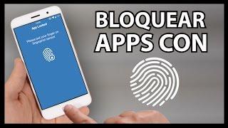 Bloquear APPS con la HUELLA DACTILAR en Android 6.0 Marshmallow