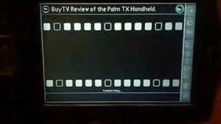 PALM TX - Watching YouTube videos With KINOMA PLAYER 4 EX -