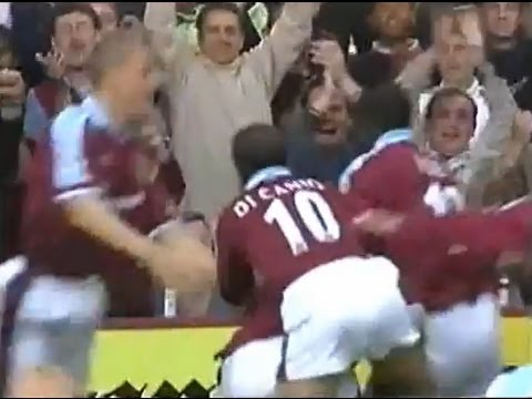 West Ham Utd v Middlesbrough 1998-99 LAMPARD GOAL