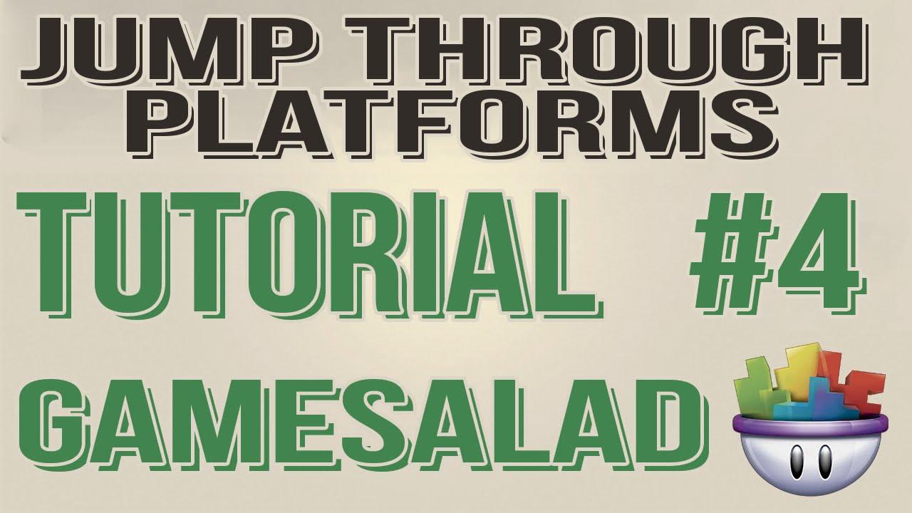 Gamesalad custom fonts - Gamesalad Tutorial Jump Through Platforms