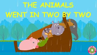 The Animals Went In Two by Two Song | Nursery Rhymes | Kids Songs | Bindi's Music & Rhymes
