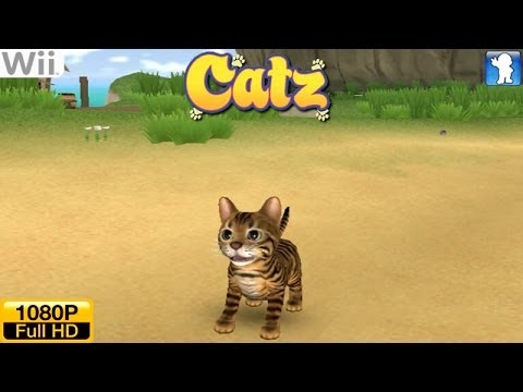 Catz - Wii Gameplay 1080p (Dolphin GC/Wii Emulator)