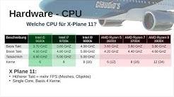 X Plane 11 | Hardware - Konfiguration - Performance - und andere Dinge