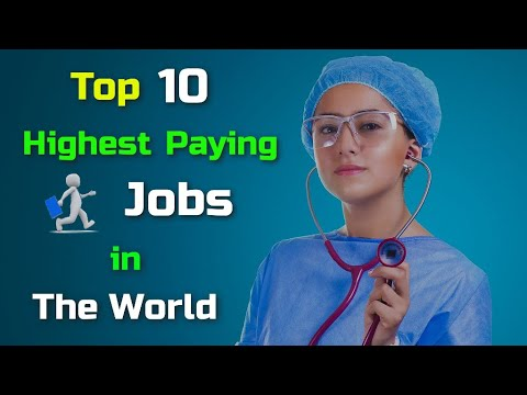 Top 10 Highest Paying Jobs in The World – [Hindi] – Quick Support