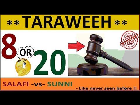 8 or 20 rakats? Best Video on the Issue of Taraweeh Prayer