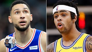 Trading Ben Simmons for D'Angelo Russell makes sense – Jalen Rose | Jalen & Jacoby