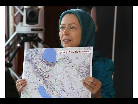 Maryam Rajavi at the Council of Europe 24 January 2018 Call for the release of detained protesters